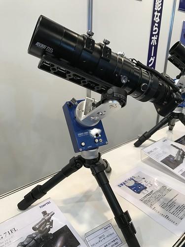 CP+ 2017: BORG 71FL+レデューサー7872セット + ユニテック SWAT-200