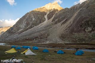 Camping Enroute Hampta Pass