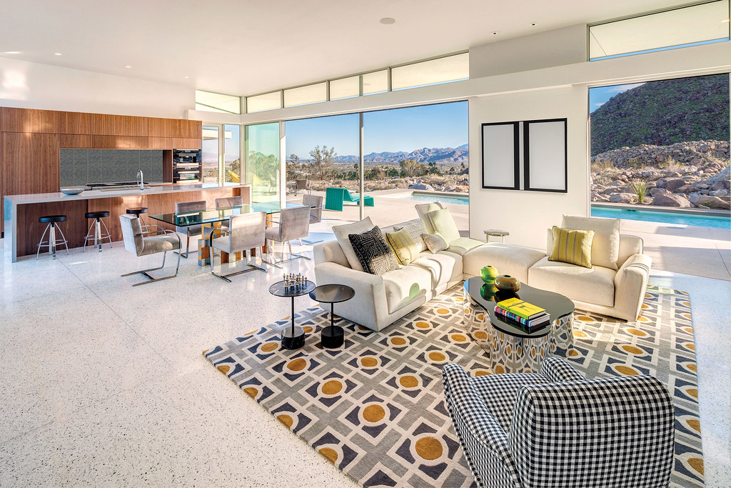 Modern desert villa by o2 Architecture and Al Beadle complete in Palm Springs Sundeno_03