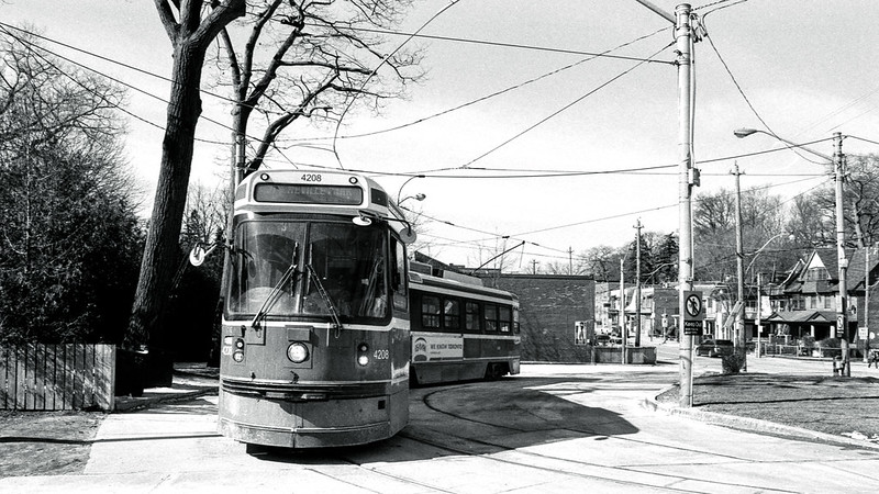 East End of the 501 Street Car Line