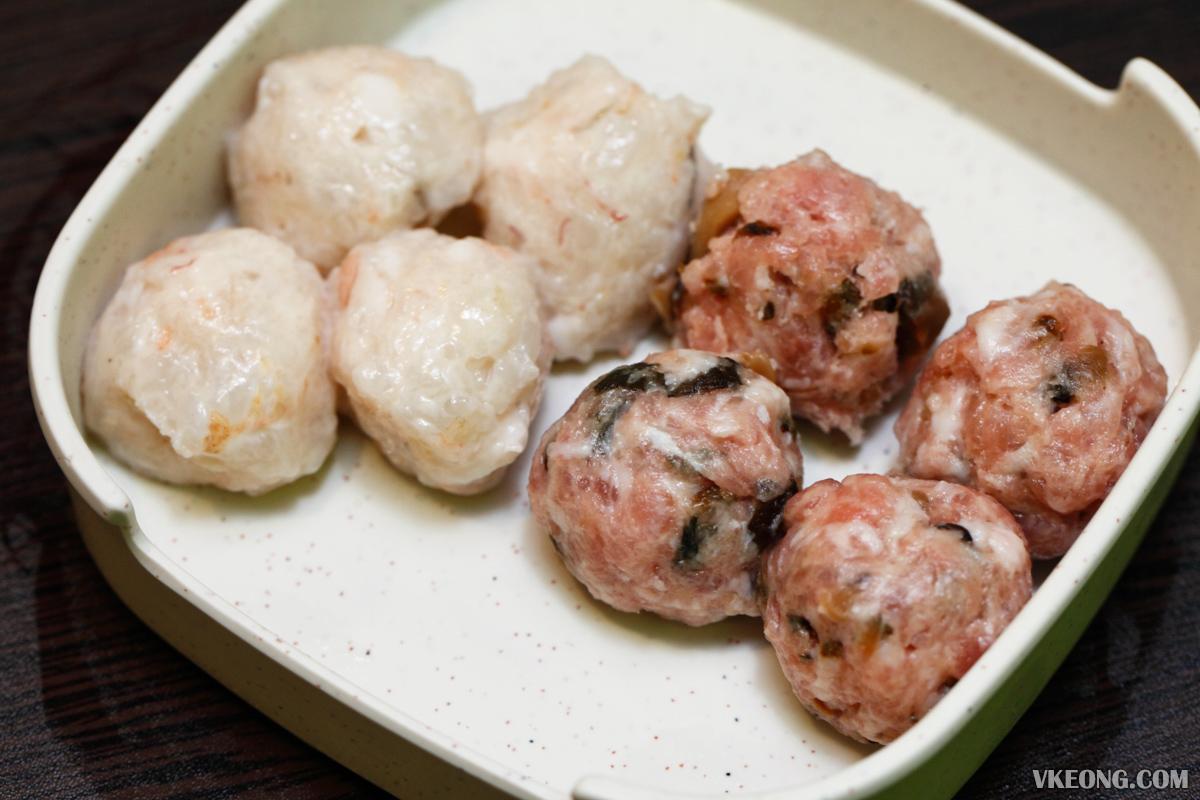 Harbour Steamboat Prawn Ball Mushroom Pork Ball