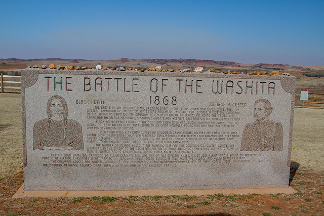 The Battle of the Washita 1868