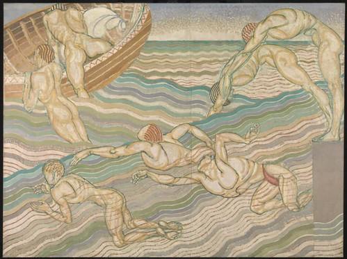 Duncan Grant, Bathing 1911, Tate. © Tate