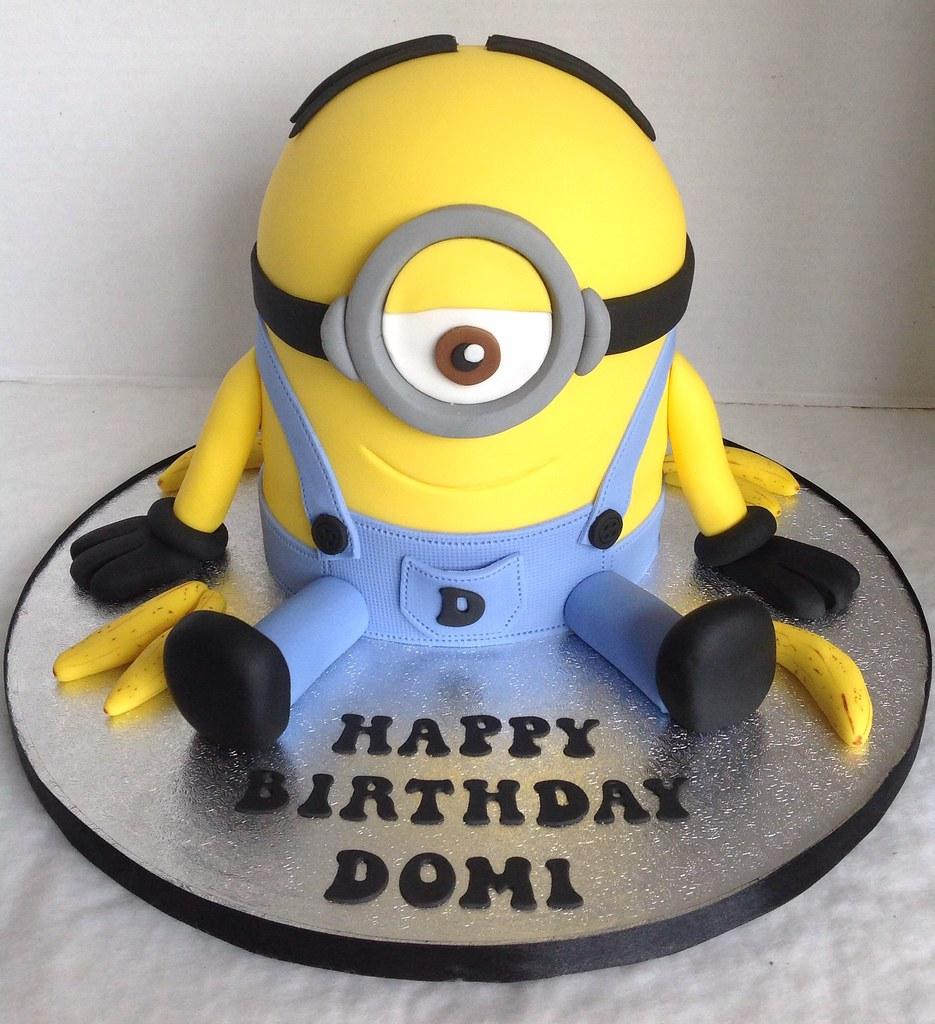 Minion Birthday Cake Liz Flickr