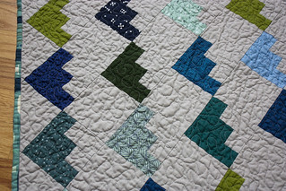 Christina's log cabin baby quilt | by jrcraft