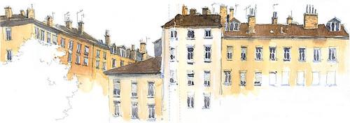 place des tapis lyon france vue panoramique sur la nouv flickr. Black Bedroom Furniture Sets. Home Design Ideas