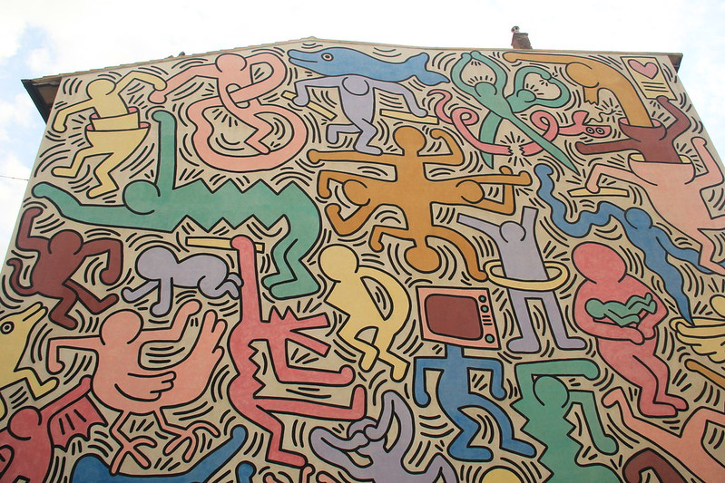 "Keith Haring's ""Tuttomondo"""