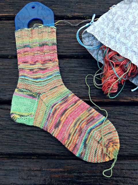 один носок | one sock
