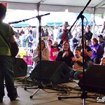 Andy May at MerleFest-2013-Acoustic Kids (6)