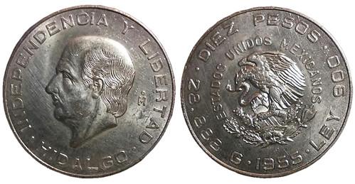 d - 1955 - 10-pesos