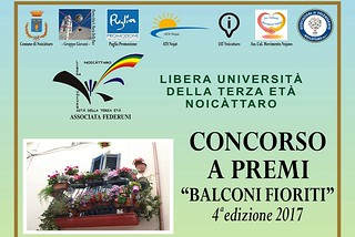 Noicattaro. Balconi Fioriti 2017 front