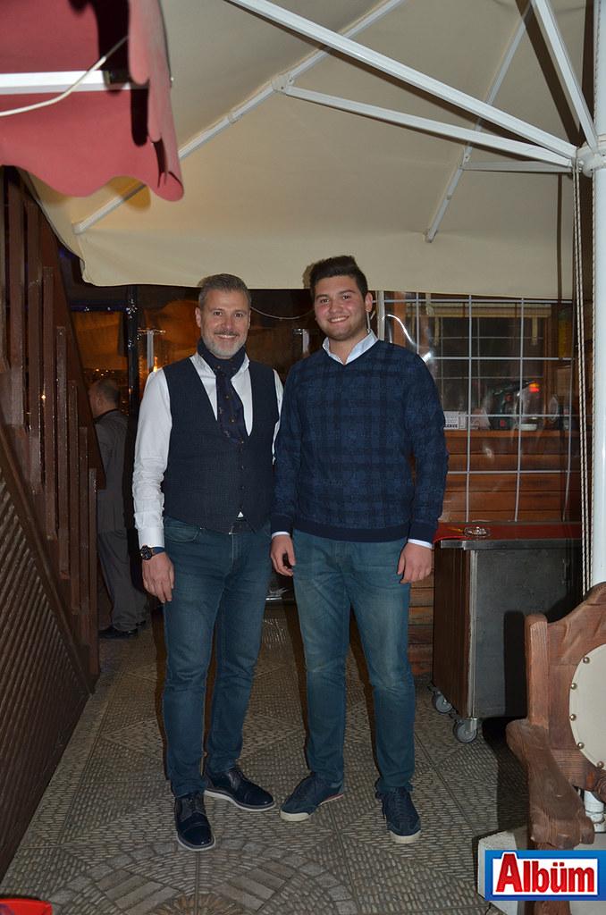 Han Restoran sahibi Hakkı Uysal ve oğlu Batuhan Uysal