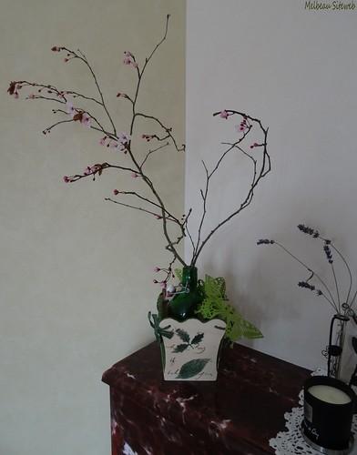 Bouquets de branchages printaniers