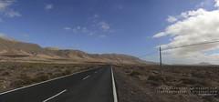 Carretera a Famara por El Jable