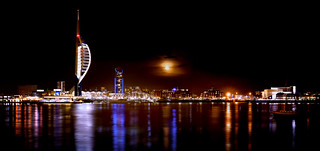 Waterfront Moonrise | by Langstone Joe