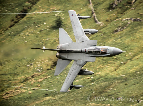 RAF Tornado GR4 prepares to enter Cad West | by JTW Aviation Images