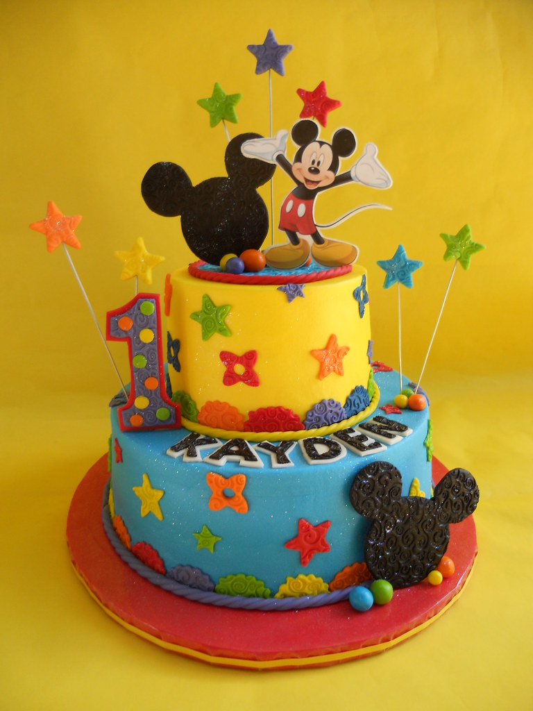 Mickey Mouse Clubhouse Birthday Cake Amy Stella Flickr