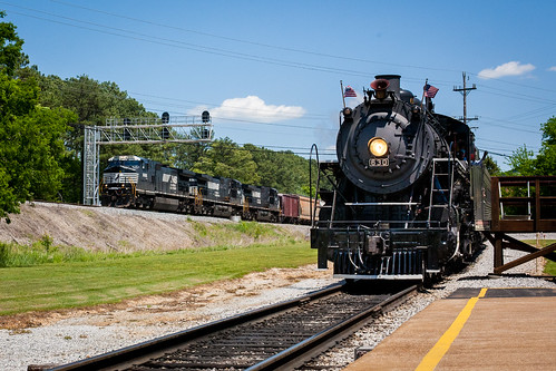 NS 9686 & Southern 630 at Grand Junction | by Adam Preble