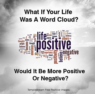 If Your Life Was A Word Cloud Would It Be More Positive or Negative? | by Templestream