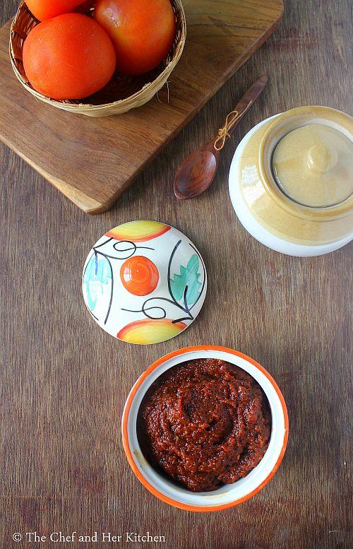 tomato nilava pacchadi