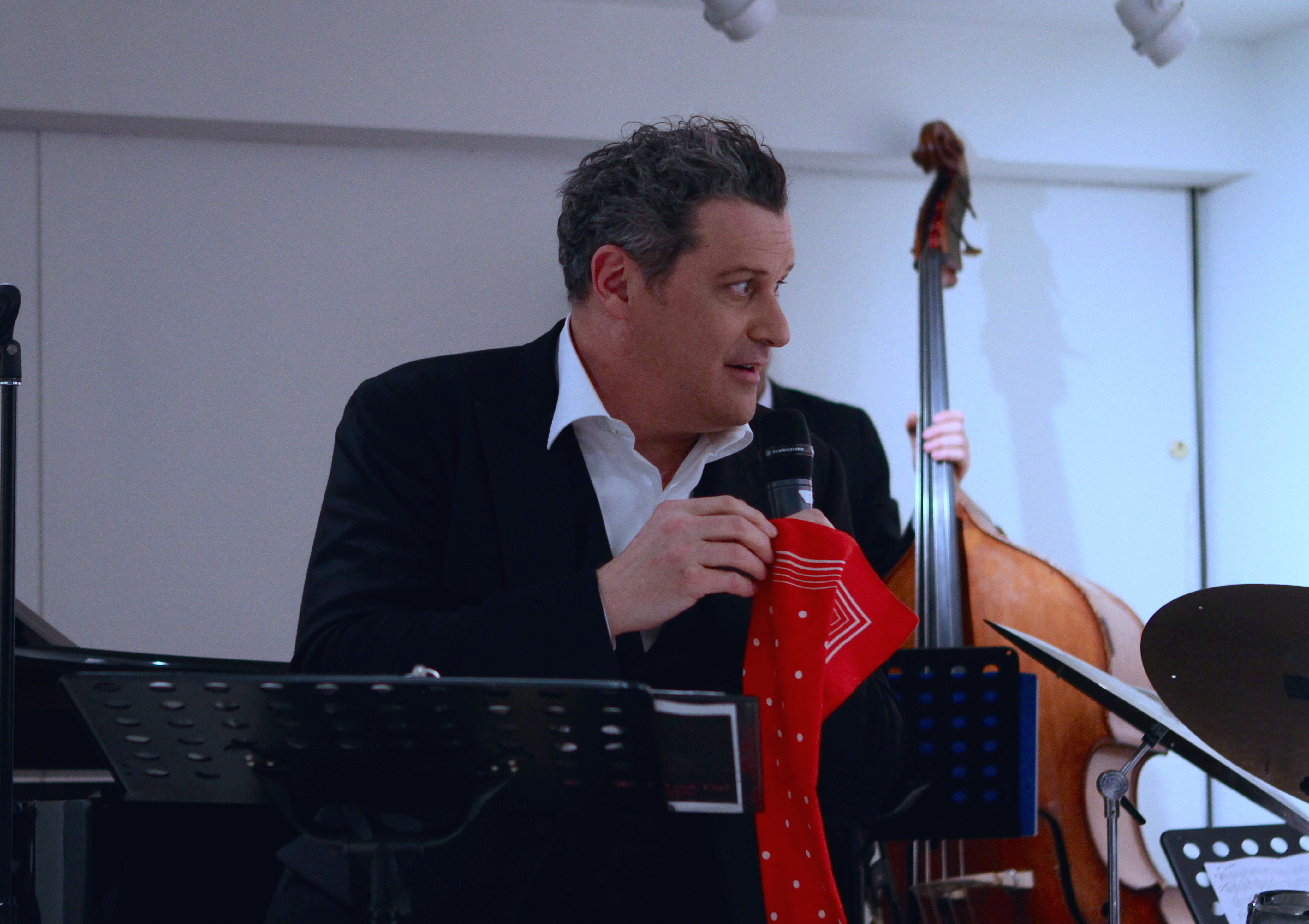 Works and Process at the Guggenheim Presents Isaac Mizrahi and the Ben Waltzer Quartet (6)