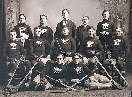 1903-04 Portage Lakes Hockey Club team
