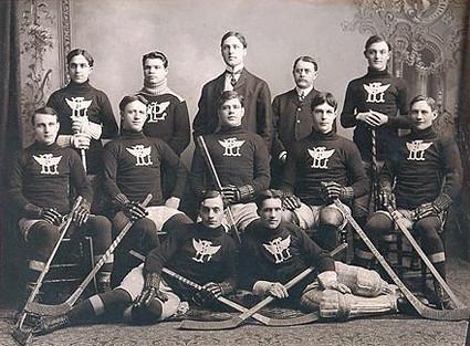 1903-04 Portage Lakes Hockey Club team