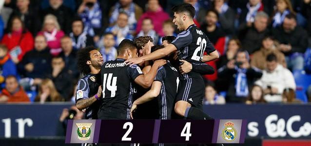 La Liga (Jornada 30): CD Leganes 2 - Real Madrid 4
