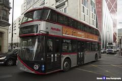 Wrightbus NRM NBFL - LTZ 1190 - LT190 - Silver - Cricklewood Bus Garage 16 - Metroline - London 2017 - Steven Gray - IMG_8815 - IMG_9277