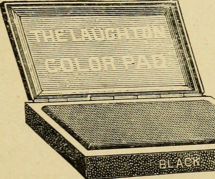 Image From Page 46 Of How To Make Rubber Stamps For Profit 1891