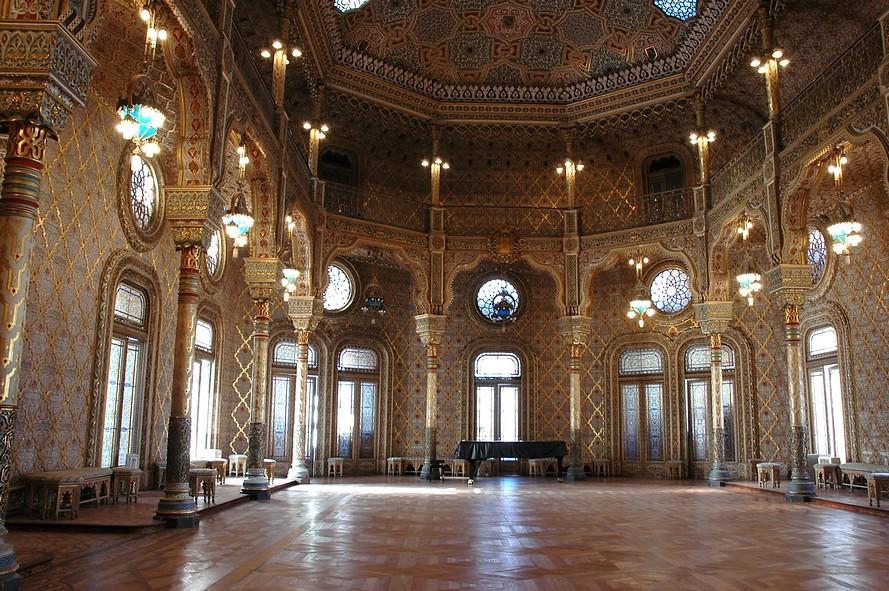 Palacio Da Bolsa Salon Arabe Voyagerlemonde Flickr