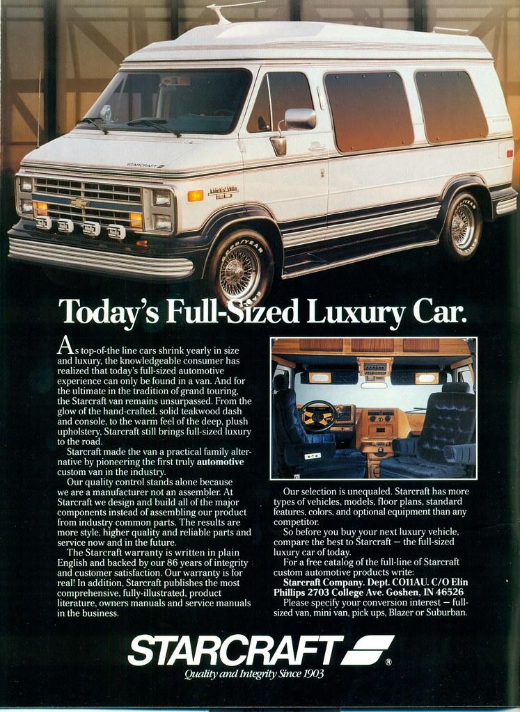 1989 Chevrolet Conversion Van By Starcraft