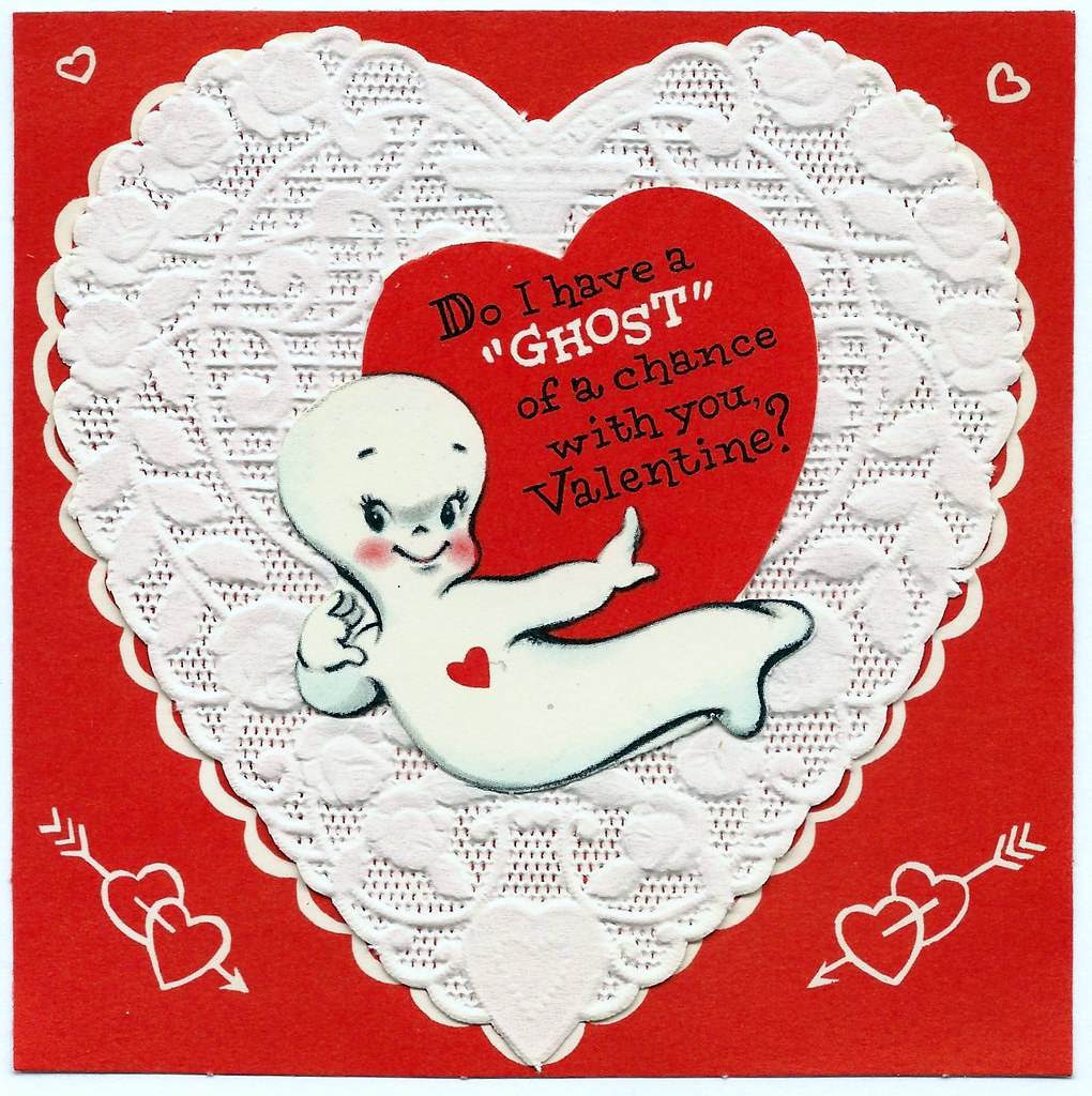 Vintage valentine day greeting card by american greetings flickr vintage valentine day greeting card by american greetings do i have a ghost of a m4hsunfo