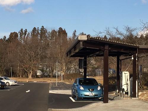 東北自動車道 長者原SA(上り)急速充電器