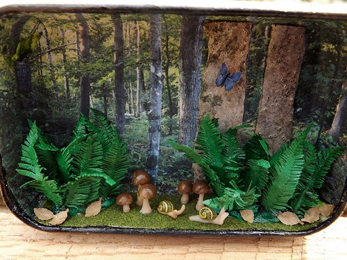 tiny diorama of Forest of ColtPixy