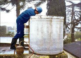 impermeabilizacion de tanque de agua