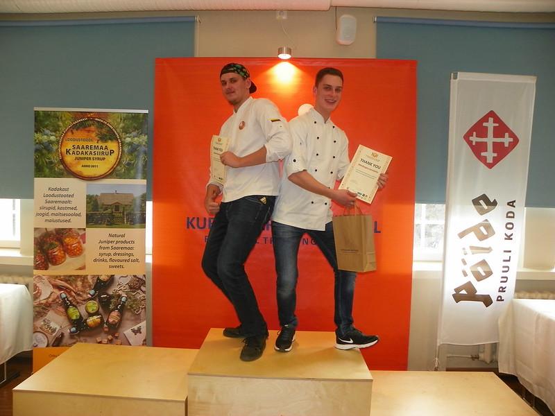Jaunųjų virėjų profesinio meistriškumo konkursas Estijoje