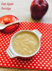 Oats Apple Porridge for babies