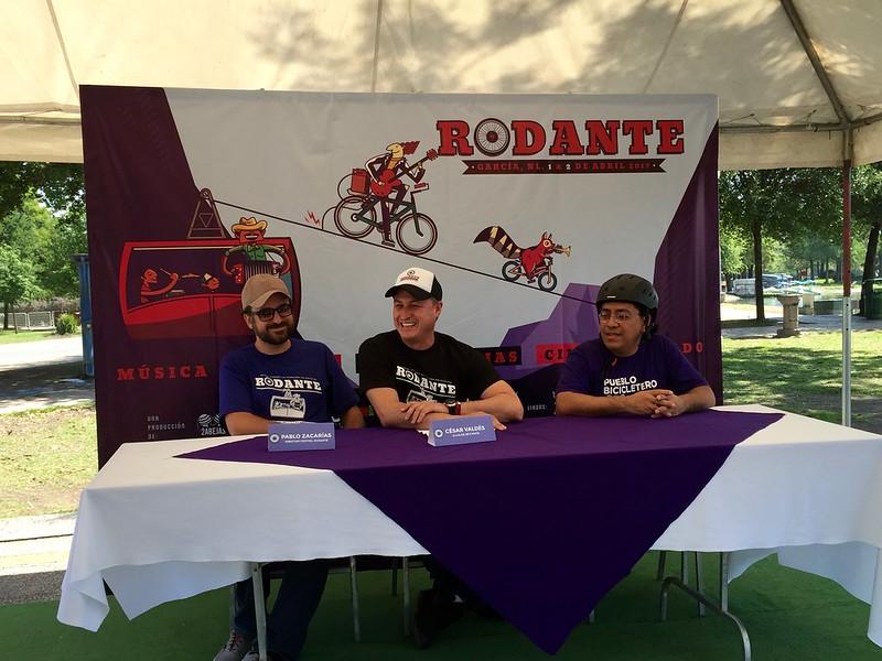 Invitación al Festival Rodante en Garcia, NL