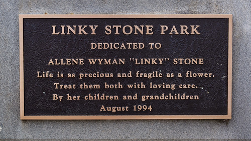 Linky Stone Park dedication - 2