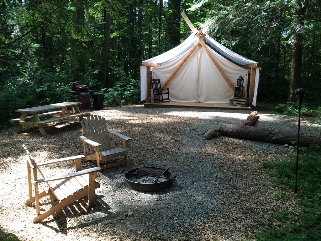 Pampered Wilderness campground