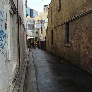 Surry Hills lanes in the rain 1 | by TenguTech