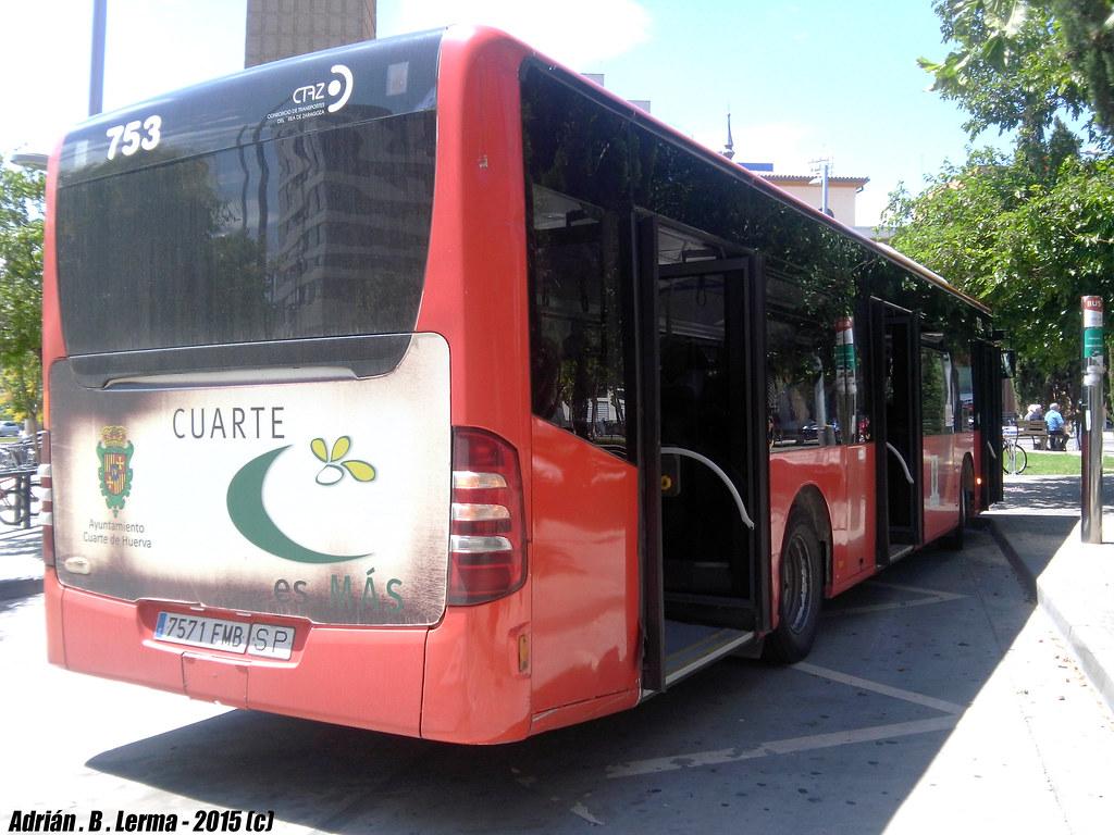 Mercedes Benz 0530 Citaro / Ágreda 753 | El autobús que hace… | Flickr