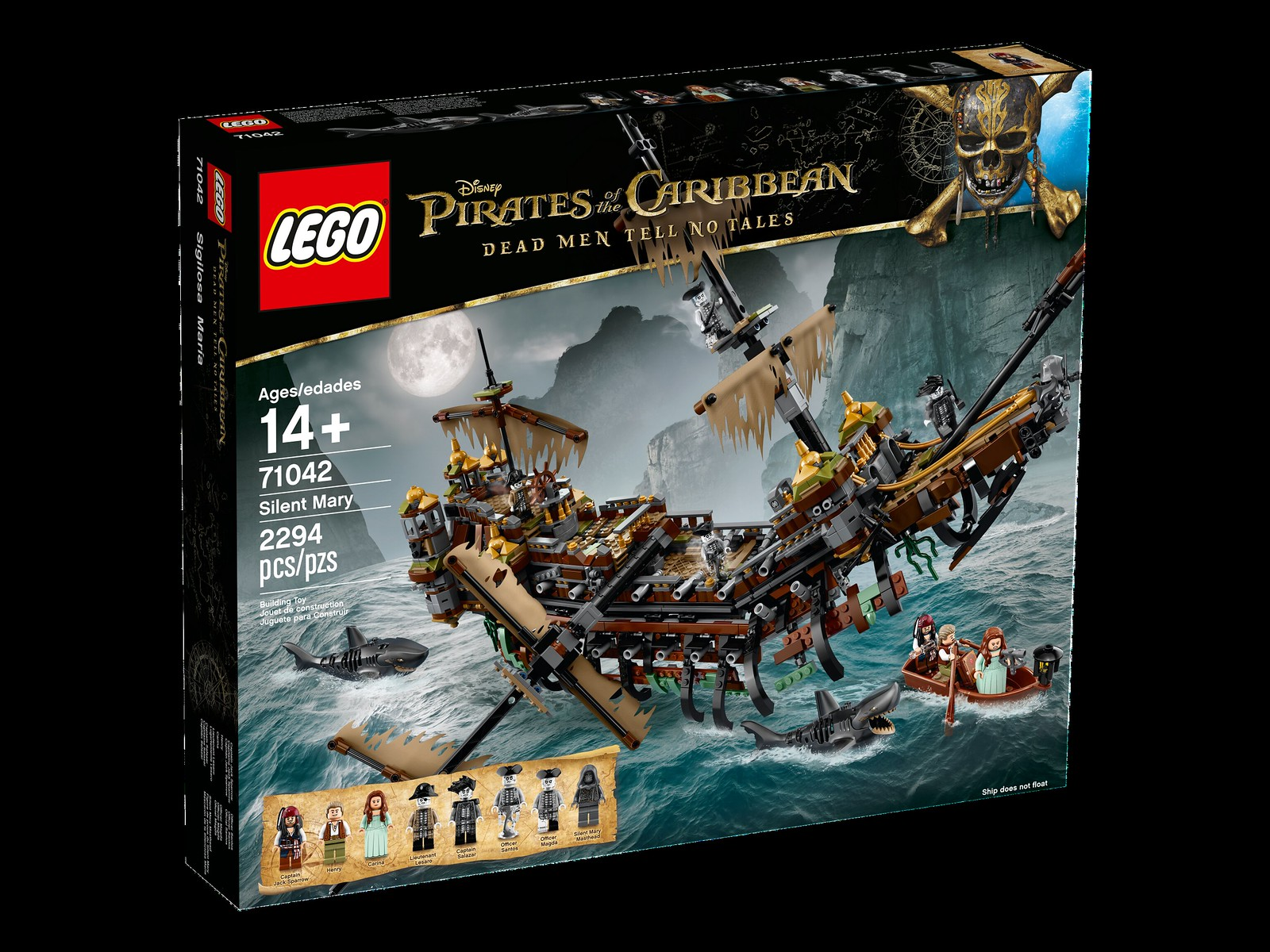 LEGO Pirates of the Caribbean 71042 - The Silent Mary