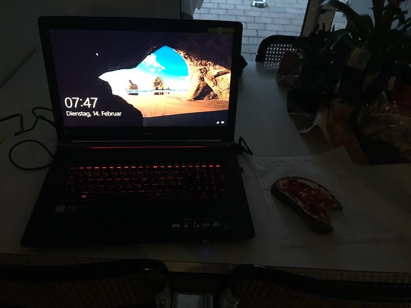 Morning computer
