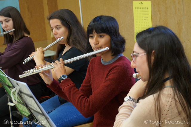 Trobada de flauta travessera i amics