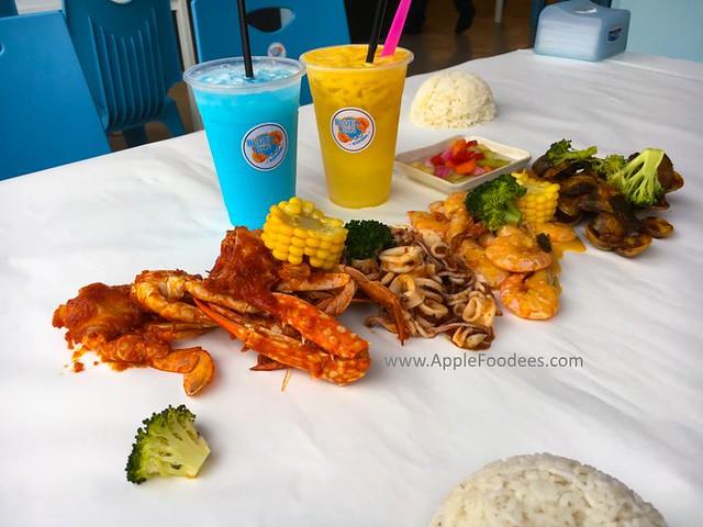 Blue Inn Seafood Kepong - Set A Menu