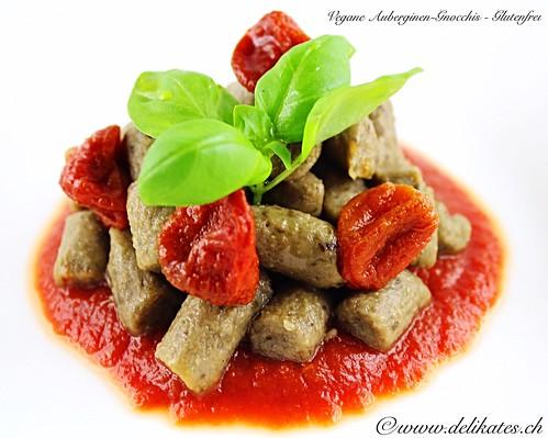 Vegane Auberginen-Gnocchis - Glutenfrei