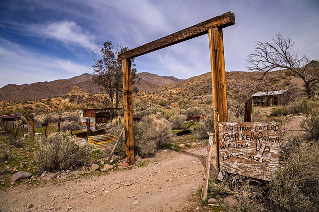 Barker Ranch Entrance