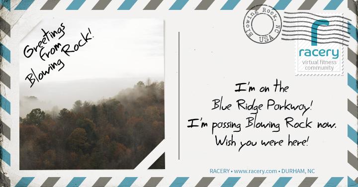 Blue Ridge Postcard